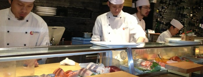 Nobu is one of London's great locations - Peter's Fav's.