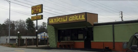 Mexicali Grille is one of Favorite Bars in Athens.