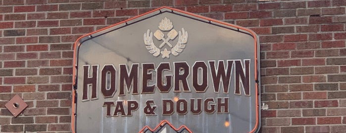 Homegrown Tap and Dough is one of Den JEN!.