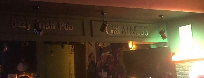 Ozzy Irish Pub is one of สถานที่ที่ Hakan ถูกใจ.