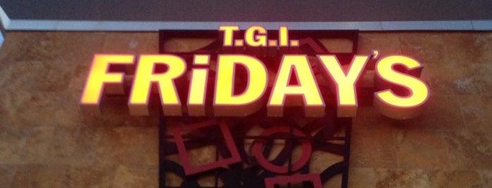TGI Fridays is one of Orte, die Matt gefallen.