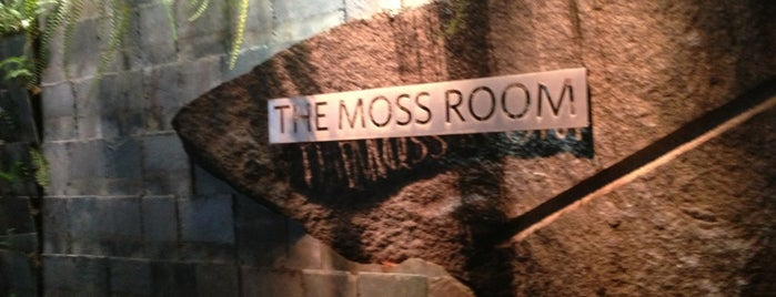The Moss Room is one of sf restaurants.