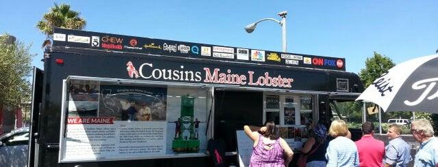 Cousins Maine Lobster Truck is one of Orte, die Olivia gefallen.