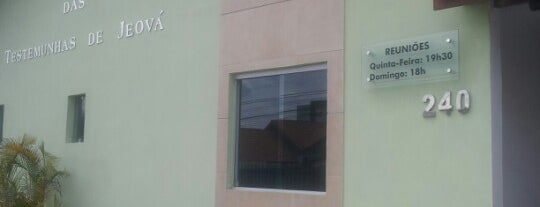 Salão do Reino das Testemunhas de Jeová - Congregação Itararé is one of Oswaldo : понравившиеся места.