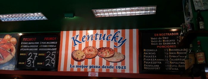 Kentucky is one of Almuerzo.