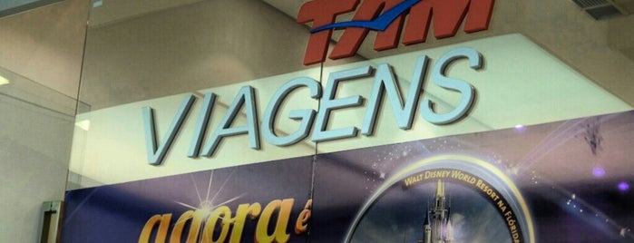 TAM Viagens is one of Shopping Estação.