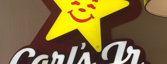 Carl's Jr. is one of Shakes and Burgers CDMX 🍧🍔.
