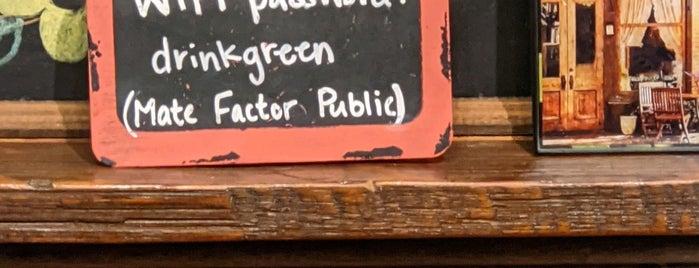 Maté Factor Café is one of savannah.