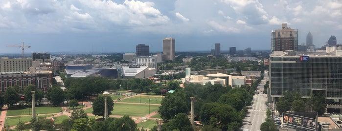 SkyView Atlanta is one of Lugares favoritos de Sarah.