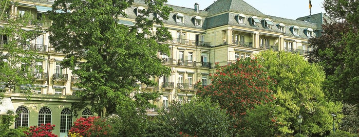 Brenners Park Hotel & Spa is one of Lieux qui ont plu à Georgia❤.