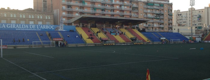 Estadi Narcís Sala - UE Sant Andreu is one of Lugares favoritos de Caótica.