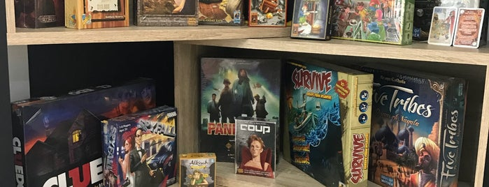 GIG - Good in Game Boardgame Center is one of Board Game Cafes.