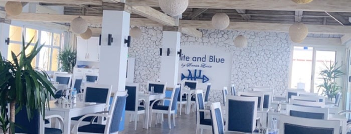 White & Blue is one of Egypt.