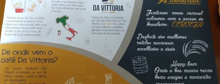Da Vittoria is one of Cafés.
