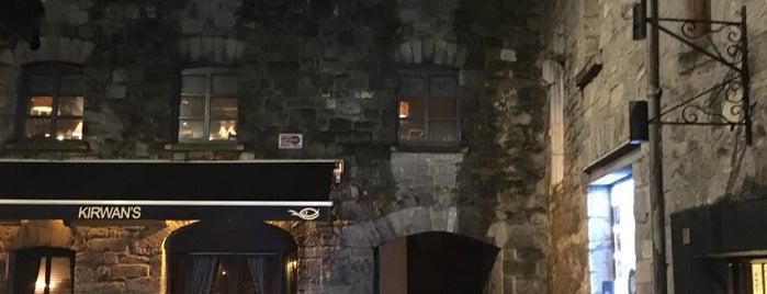 Kirwan's Lane is one of Galway Ireland.