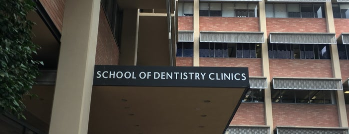 UCLA School of Dentistry is one of Gespeicherte Orte von Queen.