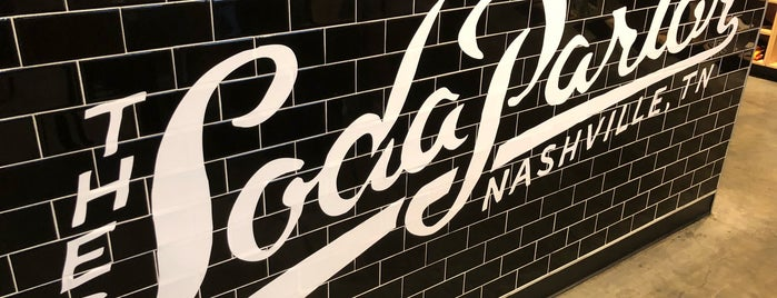 The Soda Parlor is one of Locais curtidos por Laura.