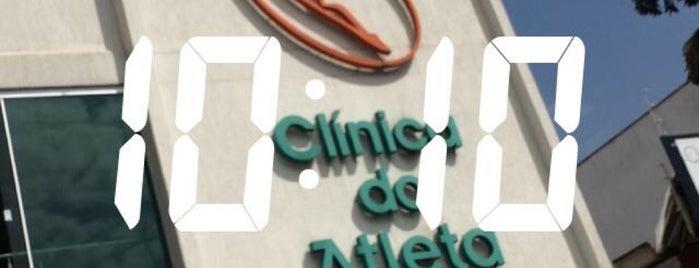 Clínica do Atleta is one of สถานที่ที่บันทึกไว้ของ Cilene Angélica.