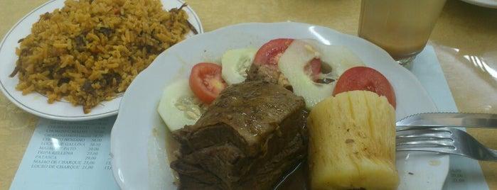 El Motacú is one of pour manger =).