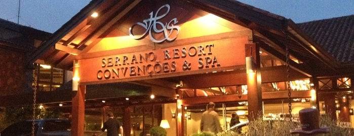 Wish Serrano Resort & Convention Gramado is one of Hotéis.