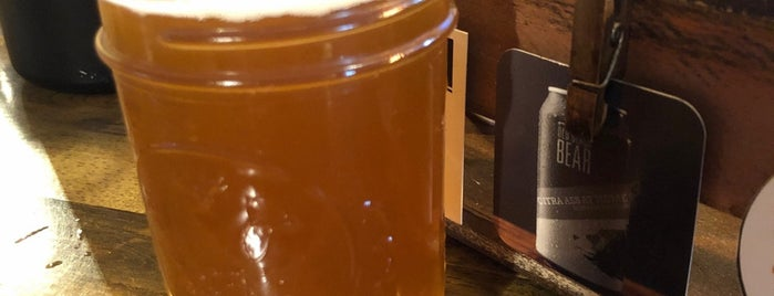Old Black Bear Brewery is one of Sudsy Stops In Huntsville.