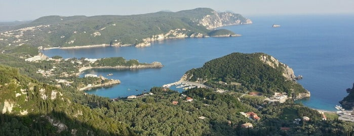 Lakones is one of Corfu, Greece.