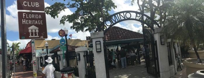 Máximo Gómez Domino Park is one of Miami.