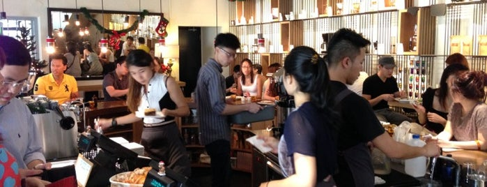 Chye Seng Huat Hardware Coffee Bar is one of Singapore Specialty Coffee.