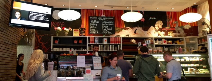 Rosso Espresso is one of Perth city coffee stops.