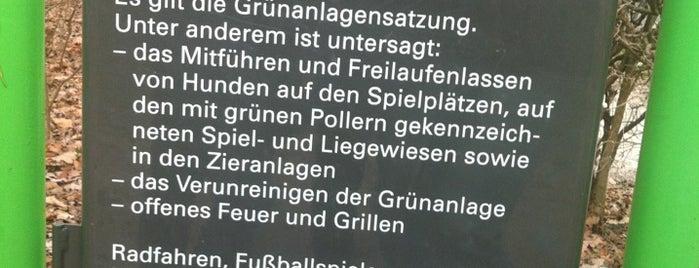 Luitpoldpark Hundewiese is one of Badge List.