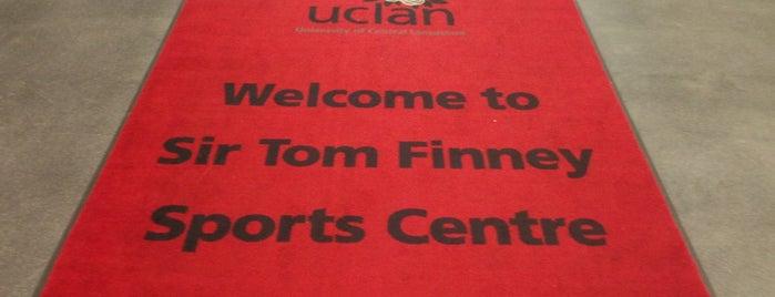 Uclan Sir Tom Finney Sports Centre is one of S : понравившиеся места.
