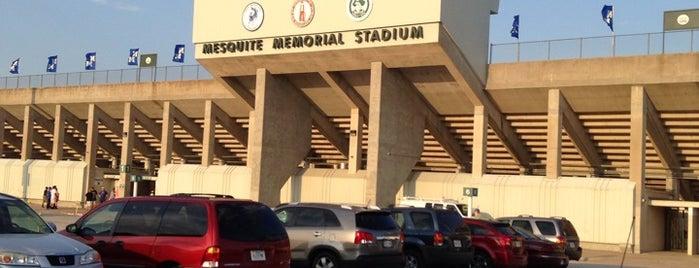Mesquite Memorial Stadium is one of Ken : понравившиеся места.