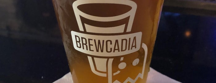 Brewcadia is one of Lieux qui ont plu à Dave.