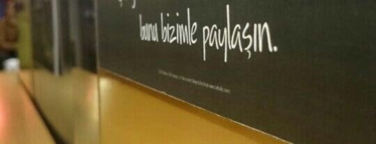 Starbucks is one of Tempat yang Disukai Gazanfer.