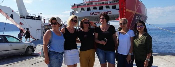 Thassos-Keramoti Ferry is one of Locais curtidos por Selcan.