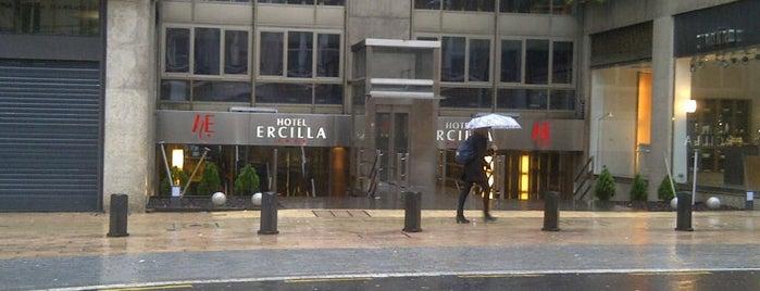 Hotel Ercilla is one of Lieux qui ont plu à Fanychachi.