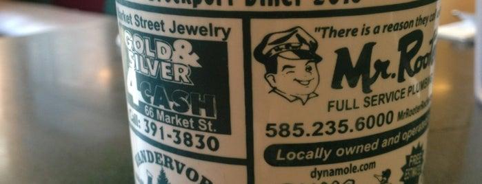 Brockport Diner is one of Derk : понравившиеся места.