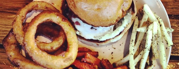 Stout Burgers & Beers is one of LA Happy Hours.