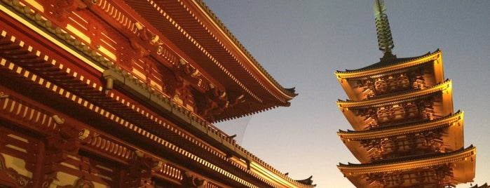 Senso-ji Temple is one of Tokyo.