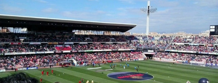 Estadio Nuevo Los Cármenes is one of SPAIN LA LIGA STADIUMS SEASON 2016-17.