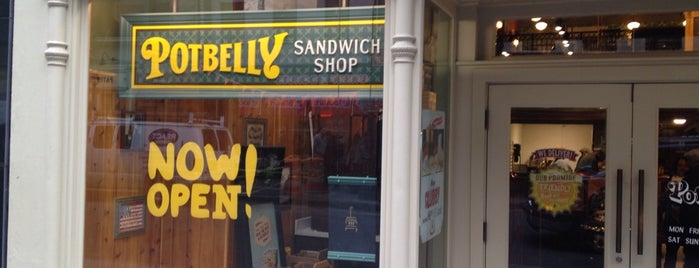 Potbelly Sandwich Shop is one of Lunch Spots.