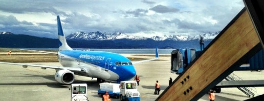 Aeropuerto Internacional de Ushuaia - Malvinas Argentinas (USH) is one of Free WiFi Airports 2.