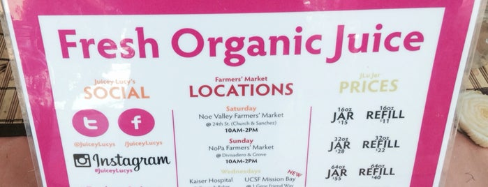 Kaiser Farmer's Market (wednesday 10-2pm) is one of NOPAlicious.