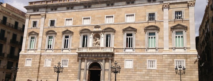 Palacio de la Generalitat de Cataluña is one of Barcelona.