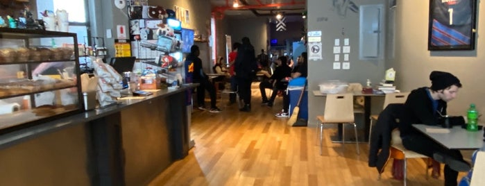 Waypoint Media Cafe is one of Places to check out.