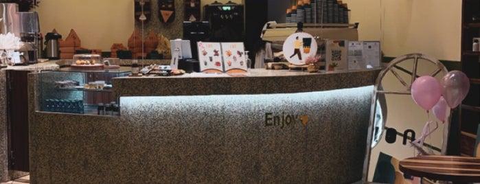 ion Coffee is one of Coffee shops | Riyadh ☕️🖤.