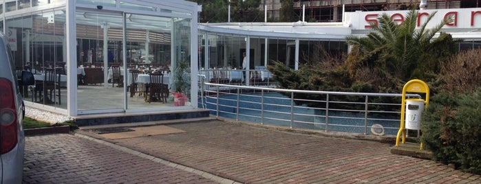 Serander Park Cafe & Restaurant is one of Orte, die Sinan gefallen.