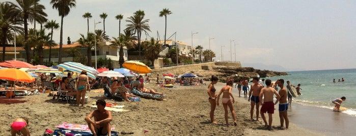 Playa La Torrecilla is one of Nerja.