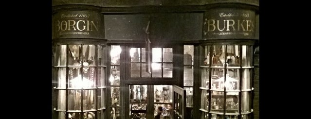 Borgin and Burkes™ is one of HARRY POTTER WORLD.