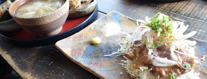 生姜料理 しょうが is one of Lieux sauvegardés par Hide.